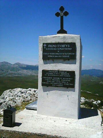Споменик вођи устанка Пери Тунгузу